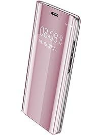 Funda Huawei P10 Espejo PC Carcasa Flip 360° Protectora Ultra Delgado Choque Absorción Anti-