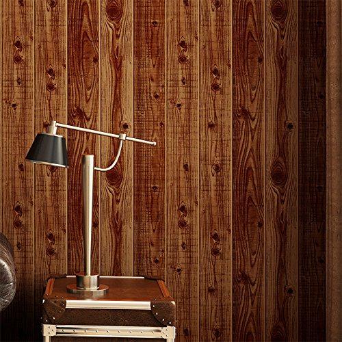 Punto di gatto da parete cool tre adesivi adesivo vivaio stile cinese vintage imitazione pavimento in legno carta da parati struttura in legno