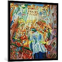 Quadro con cornice: Umberto Boccioni