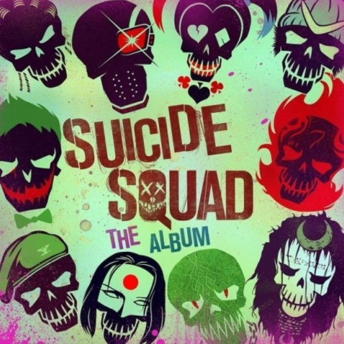 [SUICIDE SQUAD : THE ALBUM] 2016 Movie O.S.T CD Package Sealed by Skrillex & Rick Ross (Khalifa-cds Wiz)