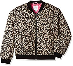 The Childrens Place Girls Jacket (2045829583_Leopardfur_L/10-12)