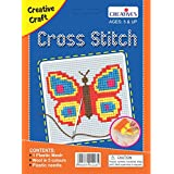 Creative Educational AIDS P. Ltd. Cross Stitch Kit – Butterfly  , Multi Color