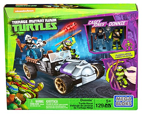 Mattel Mega Bloks DMX52 - Teenage Mutant Ninja Turtles Donnies Racer (Schildkröten Ninja Turtle)