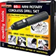 MINI DRILL GRINDER SET 60PC FOR ELECTRONICS HOBBY CRAFT MODEL MAKING JEWELLERY