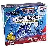 Reinex fresh WC-Duftspüler - vorbeugend gegen Urinstein und Kalksblagerungen - 4 Stück je mit Halterung