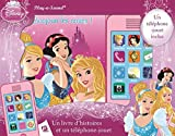 Disney Princesses - Un livre d'histoires et téléphone-jouet