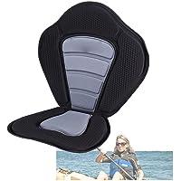 Qdreclod Siège de Kayak avec Sac de Rangement Arrière Amovible Siège de Paddle Stand Up Paddle Siege Paddle Rembourré De…