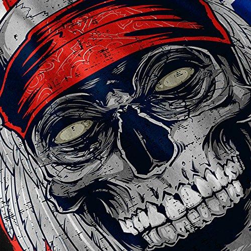 Gesicht Bastard Gesicht Schädel Damen S-2XL T-shirt | Wellcoda Black