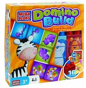 Megabloks - 51979EAG-4 - Jeu de société - Domino Build Game