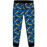 Mens Superman Batman Lounge Pants Pyjama Bottoms