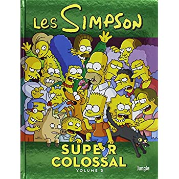 Les Simpson - Super colossal, Tome 3 :