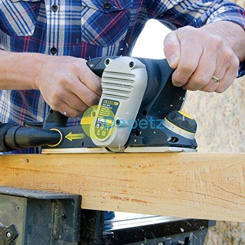 Daptez ® 750W Triple Blade Wood Planer 3Bpm DIY Woodwork - Razor Power Hand Tool