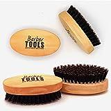✮ BARBER TOOLS ✮ Bartbürste und Schnurrbart hohe Qualität. 100% Wildschweinborsten. Es ist ideal für den Einsatz mit Öl und Balsam, Wachs und aller Sorgfalt Bart.