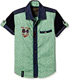 Seals Baby Boys' Shirt (AM8227_green_1)