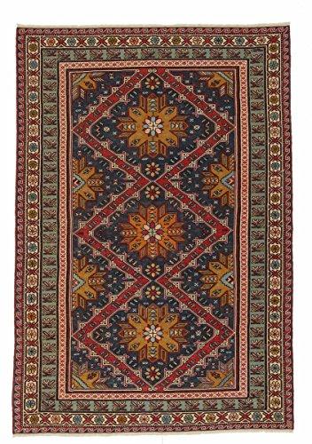 Nain Trading Kelim Soumak 246x163 Orientteppich Teppich Dunkelgrau/Dunkelbraun Handgeknüpft Russland -