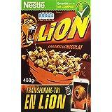 Nestlé Lion Caramel & Chocolat garantie au blé complet 480 g