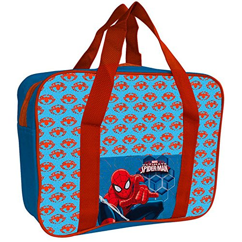 Borsa frigo spiderman piccola as8389 porta vivande fresco estate bambino mare
