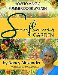 Sunflower Garden: How to Make a Summer Door Wreath