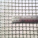 Inoxia - Rejilla de acero inoxidable para parrilla de coche, cesta de carbón para barbacoa, decorativa y de malla, tamaño 15 x 15 cm
