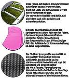Terena Gartentrampolin 305 cm inkl Sicherheitsnetz – Neonpink - 5