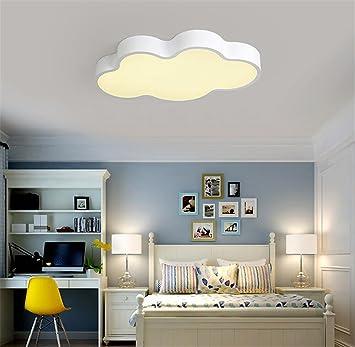Kinderzimmerlampe Weiß 50CM Dimmen Mit Fernbedienung Babylampe Wolken Lampe  Led Baby Licht Kinderlampe Cloud Deckenlampe Deckenleuchte Wolke  Kinderzimmer ...