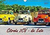 Citroën 2CV - die Ente (Wandkalender 2017 DIN A4 quer): Citroën 2CV, die Ente - von der Bauernkutsche zum Kultobjekt. (Monatskalender, 14 Seiten) (CALVENDO Mobilitaet)