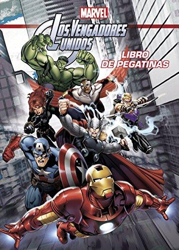 Los Vengadores unidos. Libro de pegatinas (Marvel. Los Vengadores) por Marvel