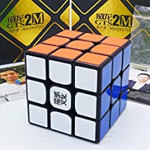 MAGNETICO *Weilong GTS v2 M* - Magnetizado MoYu 3x3 Profesional & Competencia Cubo de Velocidad Magic Cube Rompecabezas 3D Puzzle - BLACK