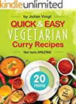 Quick & Easy Vegetarian Curry Recipes...