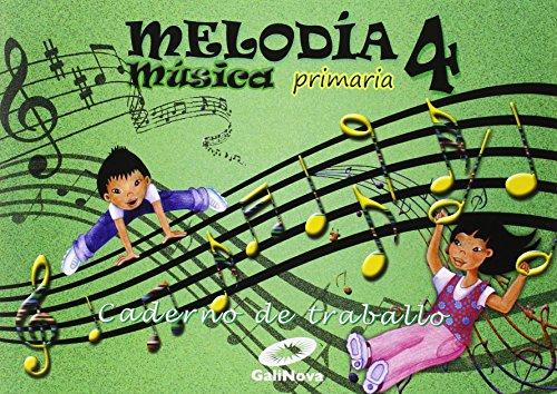 Melodía, Música, 4 Primaria : caderno - 9788497372411 por Vv.Aa