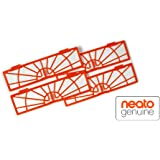 Neato 945-0122 Set de 4 Filtres Standard pour Aspirateur BotVac