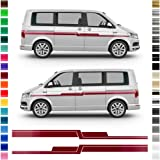 F/ür Volkswagen Sharan FSXTLLL Auto Seitenstreifen Seitenaufkleber Aufkleber