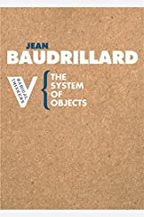 The System of Objects (Radical Thinkers) Paperback