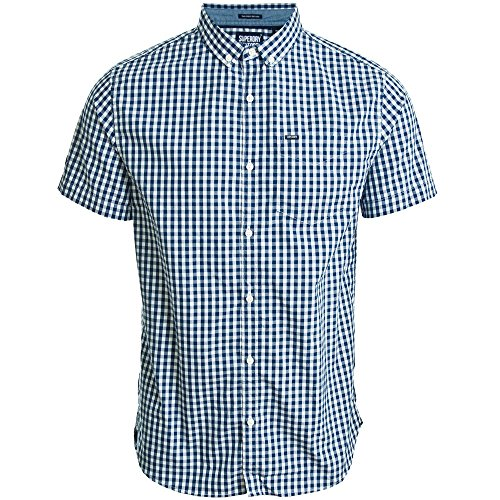 Superdry Ultra Lite Oxford S/S Shirt Navy Navy