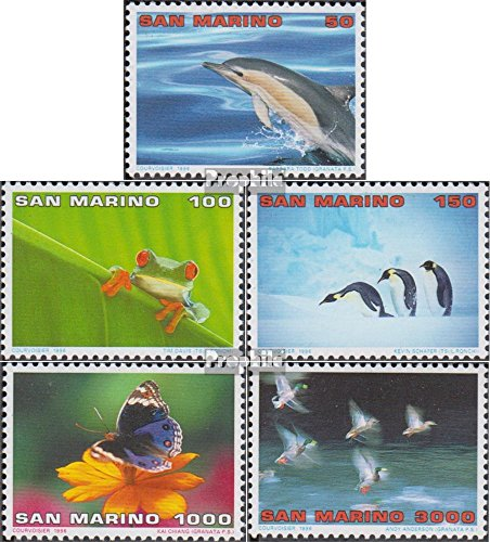 San Marino 1645-1649 (kompl.Ausg.) 1996 Ökotourismus (Briefmarken für Sammler)