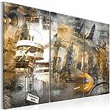 murando - Bilder 120x80 cm - Leinwandbilder - Fertig Aufgespannt - Vlies Leinwand - 3 Teilig - Wandbilder XXL - Kunstdrucke - Wandbild - Berlin 020113-283