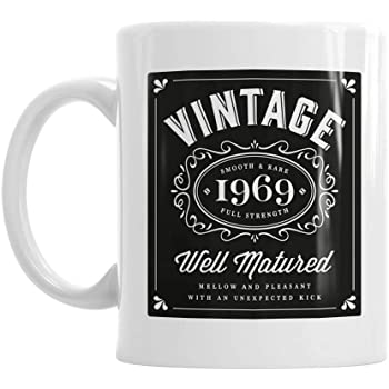 50th Birthday Gift Vintage Bourbon Gifts For Men Women 1969 Coffee Mug