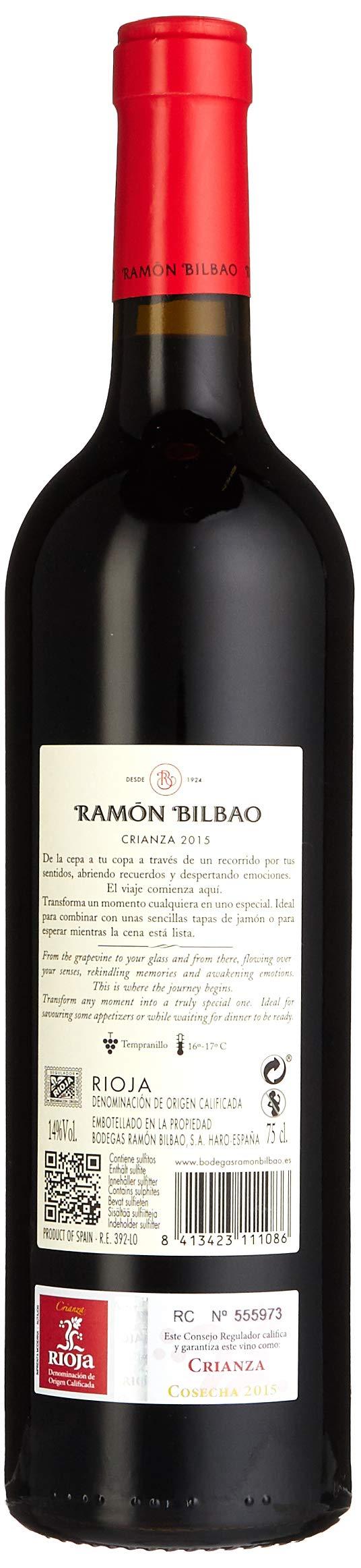 RAMON-BILBAO-Bodegas-Rioja-Crianza-DOCA-Tempranillo-2014-Trocken-6-x-075-l