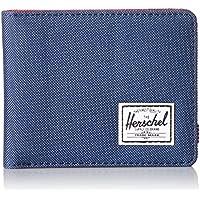 Herschel Supply Co.–Roy Portafogli in rosso/blu navy - Poly Carta Etichette