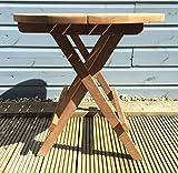 Garden Coffee Table - Teak Wood - Round Picnic