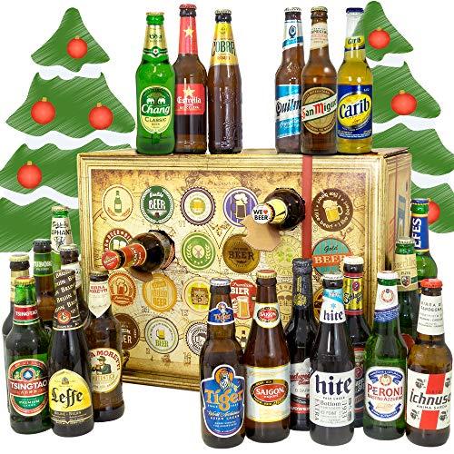 Bier Adventskalender Welt Biersorten WELTWEIT