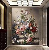 Yosot 3d Fototapete Einfache Und Romantische Wohnzimmer Dekorative Malerei Edle Vase Große Wandbild Tapete-200Cmx140Cm