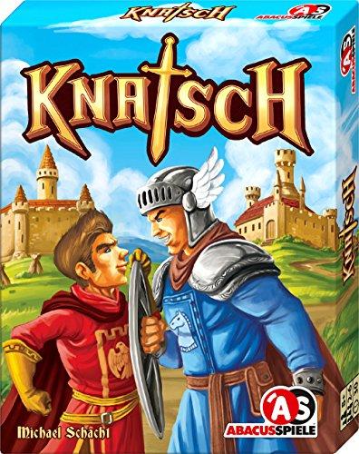 ABACUSSPIELE 08153 Knatsch - Juego de Cartas (Puede no Estar en español)