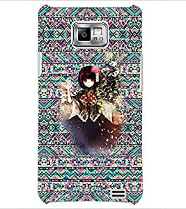 PrintDhaba Cartoon D-3525 Back Case Cover for SAMSUNG GALAXY S2 (Multi-Coloured)
