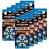 ANSMANN Hörgerätebatterien 675 blau 60 Stück -...