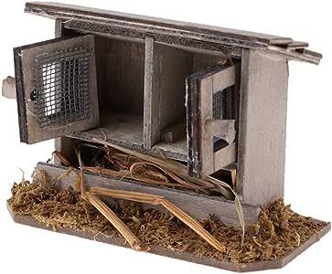 F Fityle Pollaio in Miniatura per Dolls House 1//12
