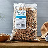 Picture Of All Seasons Wild Bird Food Seed Mix Premium Grade Dehulled by Happy Beaks (25.5kg)