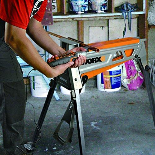Worx WX060.1 Jawhorse, tragbar aufspannung Werkbank Workstation mit Werkzeugablage - 6