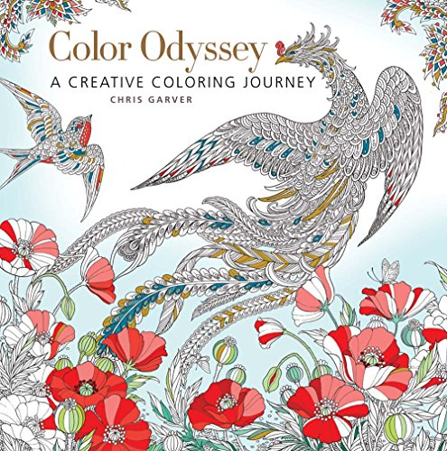 Color Odyssey: A Creative Coloring Journey (Colouring Books) (Craft-schriftzug)