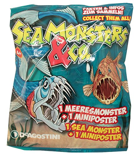 Sea Monsters & Co Flowpack - Sammelfiguren (1 Tüte) (Monster Spielzeug Sea)
